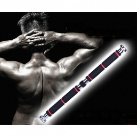 ITSTYLE Tiang Latihan Pull Up Pintu Long Grip 82-130cm - YW506488 - Black/Red - 8