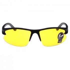 OULAIOU Kacamata Sepeda Anti UV - 3106 - Black/Yellow - 2