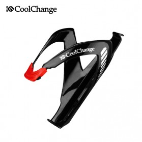 CoolChange Holder Botol Minum Sepeda Adjustable MTB - Black