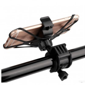 ZY Holder Smartphone Handlebar Sepeda 360 Degree - Black - 3