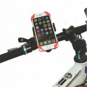 ZY Holder Smartphone Handlebar Sepeda 360 Degree - Black - 5