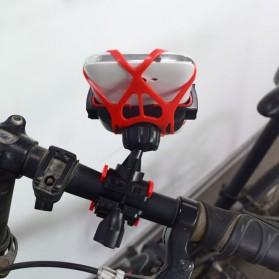ZY Holder Smartphone Handlebar Sepeda 360 Degree - Black - 6