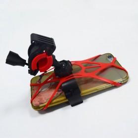 ZY Holder Smartphone Handlebar Sepeda 360 Degree - Black - 8