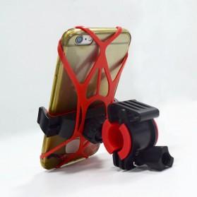 ZY Holder Smartphone Handlebar Sepeda 360 Degree - Black - 9