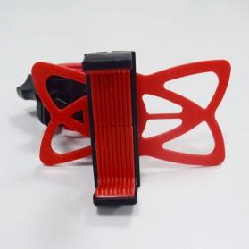 ZY Holder Smartphone Handlebar Sepeda 360 Degree - Black - 11
