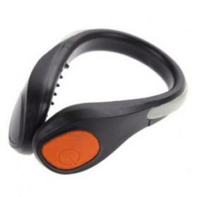 Klip Lampu Sepatu LED Safety Light - A1 - Orange - 1