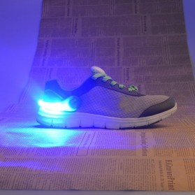 Klip Lampu Sepatu LED Safety Light - A1 - Orange - 6