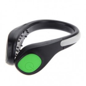 Klip Lampu Sepatu LED Safety Light - A1 - Green