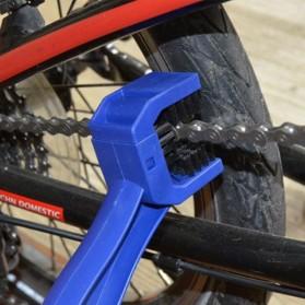 Pembersih Rantai Sepeda U Shape - Blue