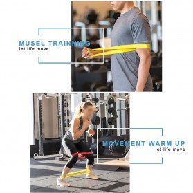 Band Loop Tension Rope Fitness - Blue - 2