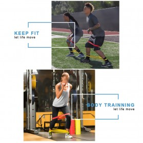 Band Loop Tension Rope Fitness - Blue - 3