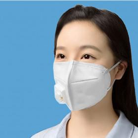 3D Masker Filter Udara Anti Polusi Respirator N95 - 9001V - White - 3