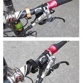 TaffSPORT Klakson Bel Sepeda Suara Nyaring - CL-6 - Silver - 5