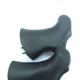 ZTTO Handle Rem Sepeda Bike Brake Lever Aluminium 22.2 - 23.8mm - CBL-09 - Black - 4