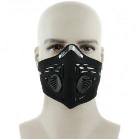 Aksesoris Motor - Basecamp Masker Motor Filter Anti Polusi - BC-591 - Black