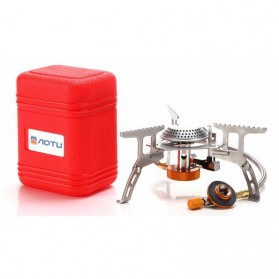AOTU Kepala Kompor Gas Lipat Portable 3500W