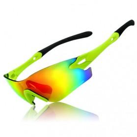 Basecamp Kacamata Sepeda Untuk Pria/Wanita BC-101 - Black/Green