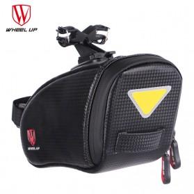 Wheel Up Tas Sepeda Waterproof Bag - C15 - Black - 4