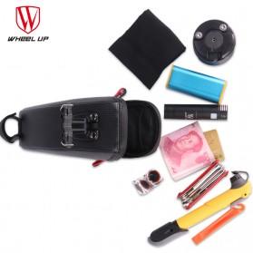 Wheel Up Tas Sepeda Waterproof Bag - C15 - Black - 5