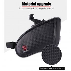 Wheel Up Tas Sepeda Waterproof Bag - C15 - Black - 6