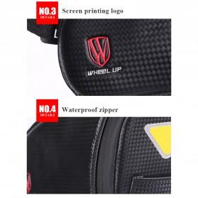 Wheel Up Tas Sepeda Waterproof Bag - C15 - Black - 8