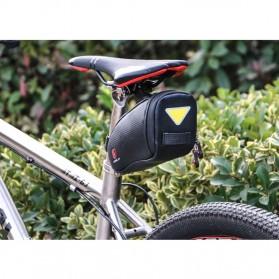 Wheel Up Tas Sepeda Waterproof Bag - C15 - Black - 9