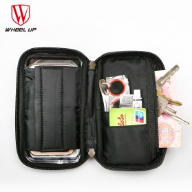 Wheel Up Smartphone Holder Sepeda Waterproof 6 Inch - AF113 - Black - 4