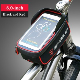 Wheel Up Tas Sepeda Waterproof Smartphone 6 Inch - 023 - Red/Black