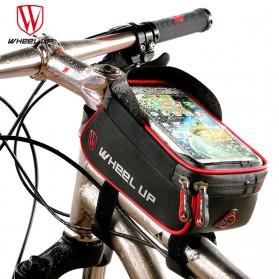 Wheel Up Tas Sepeda Waterproof Smartphone 6 Inch - 023 - Red/Black - 2