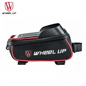 Wheel Up Tas Sepeda Waterproof Smartphone 6 Inch - 023 - Red/Black - 3