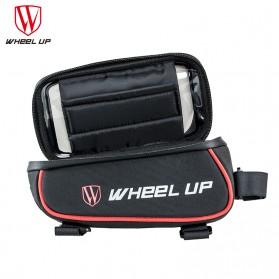 Wheel Up Tas Sepeda Waterproof Smartphone 6 Inch - 023 - Red/Black - 4
