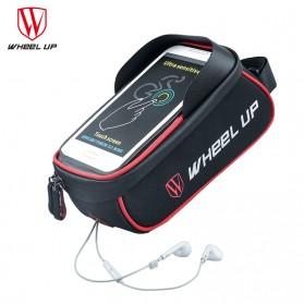 Wheel Up Tas Sepeda Waterproof Smartphone 6 Inch - 023 - Red/Black - 5