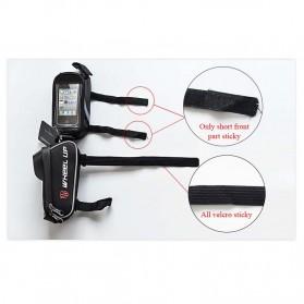 Wheel Up Tas Sepeda Waterproof Smartphone 6 Inch - 023 - Red/Black - 7