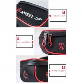 Wheel Up Tas Sepeda Waterproof Smartphone 6 Inch - 023 - Red/Black - 8