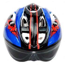 KUYOU Helm Sepeda Anak 3-8 Tahun - KY007 - Blue - 3