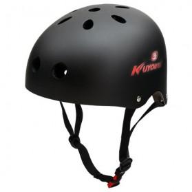 KUYOU Helm Sepeda Anak Size M - Black