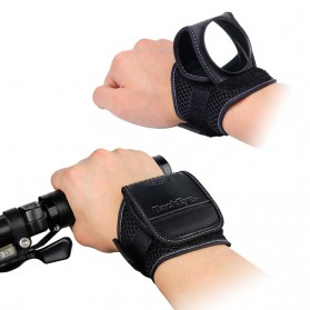 Backeye Wristband Kaca Spion Sepeda Hand Mirror Bike - Black - 5