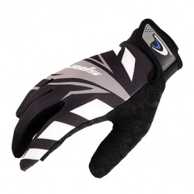 Sarung Tangan Olahraga Motor Full Finger - KP-N847 - Black