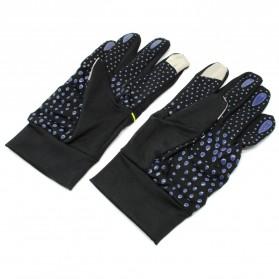 Sarung Tangan Sport Anti Slip - Size L - Black - 3
