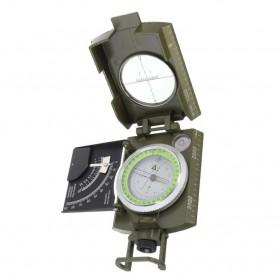 ROBESBON Kompas Militer dengan Clinometer - ZH118 - Green - 3
