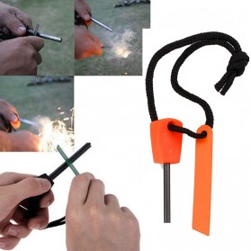 Outdoor Survival Magnesium Flint Stone Fire Starter - PRO - Multi-Color