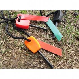 Outdoor Survival Magnesium Flint Stone Fire Starter - PRO - Multi-Color - 3