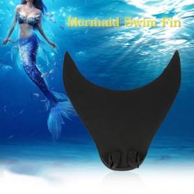 Kaki Katak Mermaid Swimming Fin Dewasa - Black - 5