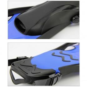 Kaki Katak Swimming Fin Diving Size 42-47 - WJ0314 - Blue - 6