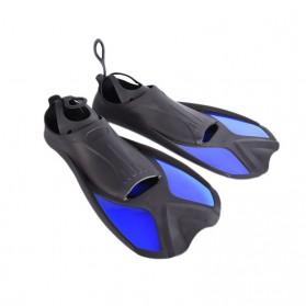 Comfortable Kaki Katak Swimming Fin Diving Size 40-41 - Blue - 7