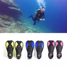 Comfortable Kaki Katak Swimming Fin Diving Size 36-37 - Pink - 2