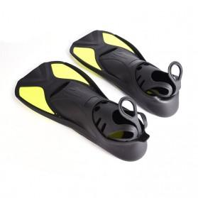 Comfortable Kaki Katak Swimming Fin Diving Size 36-37 - Pink - 3