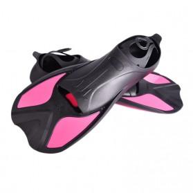 Comfortable Kaki Katak Swimming Fin Diving Size 36-37 - Pink - 4