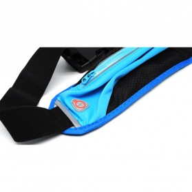 Tas Pinggang Olahraga Lycra Waist Bag - Blue - 3
