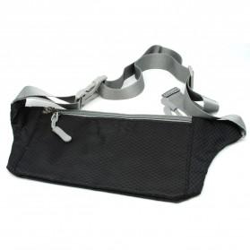 Tas Pinggang Olahraga Waist Bag - ZE-WPC - Black - 2